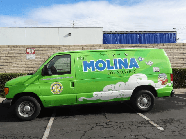 melonia full van wrap