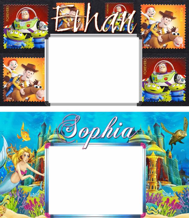 digital print dry erase color boards