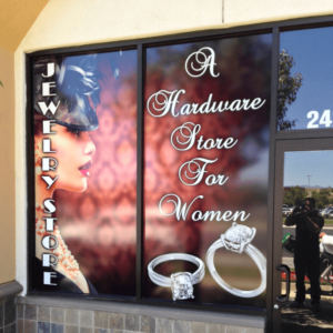 jewelry store graphic