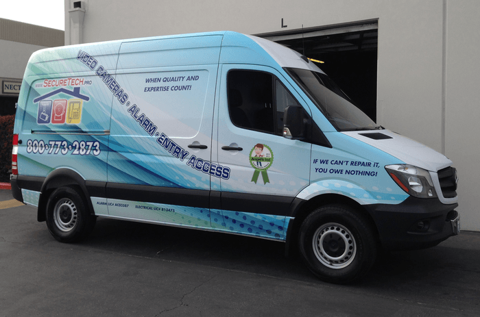 secure tech pro vehicle wrap